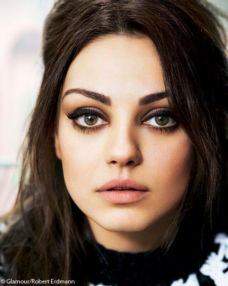 Mila Kunis | Makeup. perfect for an