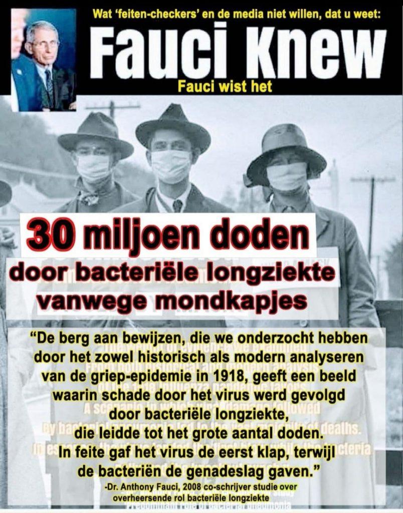 Bacteriële longontsteking veroorzaakte de meeste sterfgevallen in 1918 grieppandemie
